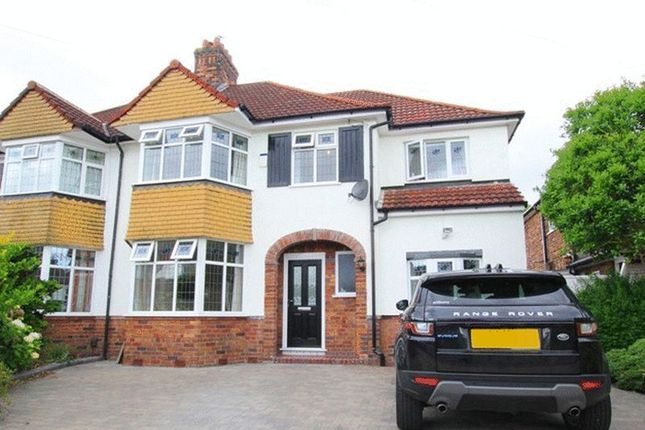 Thumbnail Semi-detached house for sale in Woolacombe Road, Childwall, Liverpool