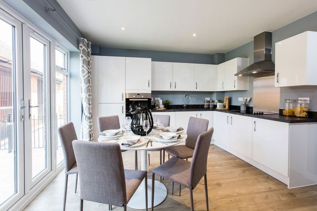 "Thumbnail 3 bedroom semi-detached house for sale in ""The Dart"" at Topsham Road, Exeter"