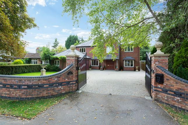 Thumbnail Detached house for sale in Willoughby Road, Countesthorpe, Leicester