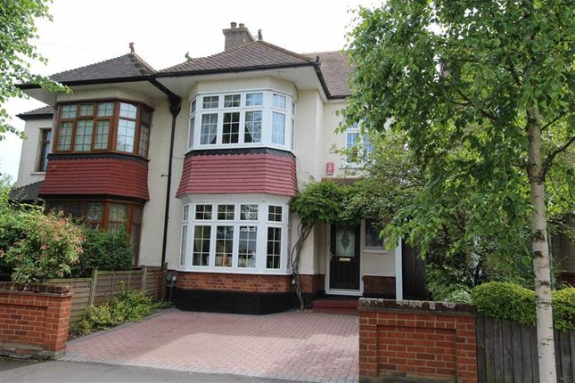 Thumbnail Semi-detached house for sale in Connaught Avenue, North Chingford, London