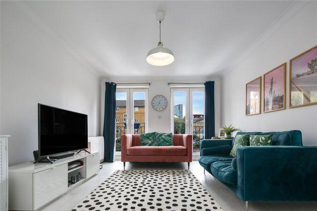 Living Room of St. Matthew's Row, London E2