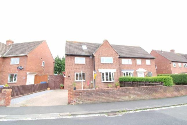 Thumbnail Semi-detached house for sale in Kirkley Drive, Ponteland, Newcastle Upon Tyne, Northumberland