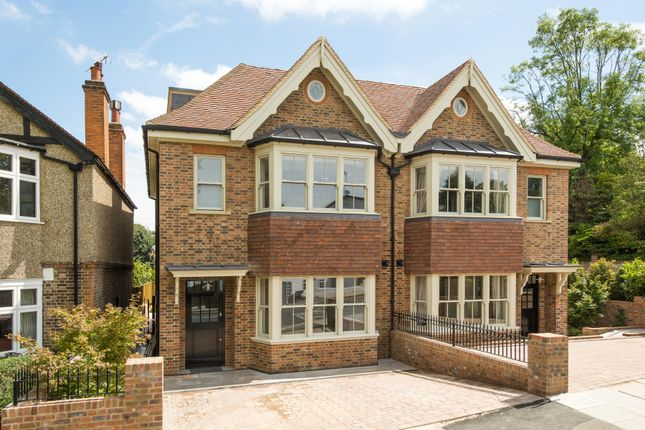 Thumbnail Semi-detached house for sale in Marryat Place, Wimbledon Village, Wimbledon Village