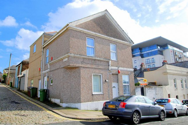 Thumbnail Flat to rent in Healy Place, Stoke, Plymouth