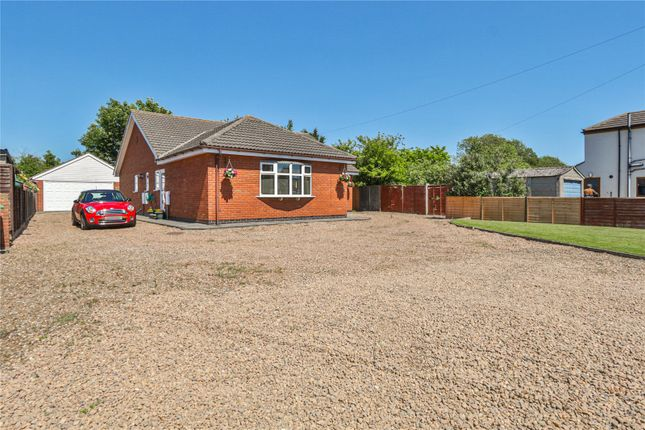 Thumbnail Bungalow for sale in Main Road, Thorngumbald, Hull, East Yorkshire