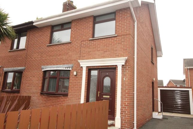 Thumbnail Semi-detached house to rent in Kipkarren Park, Conlig, Newtownards
