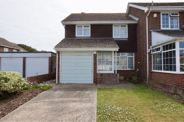 Thumbnail End terrace house for sale in Horsefield Road, Selsey