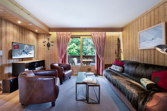 Living Area of Megeve, Rhones Alps, France