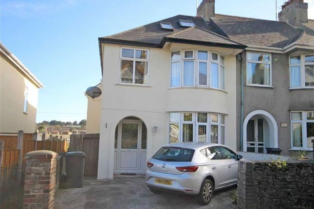 Thumbnail Semi-detached house for sale in Burton Street, Central Area, Brixham