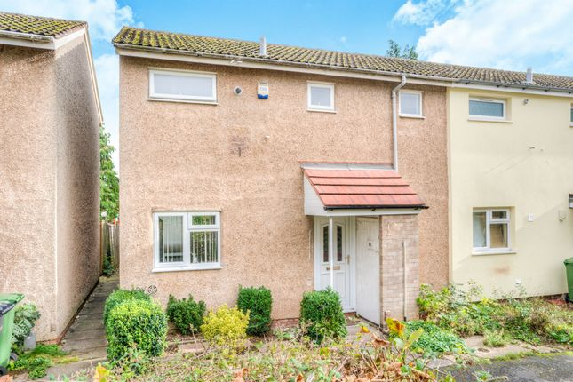 Thumbnail End terrace house for sale in Felton Close, Matchborough East, Redditch