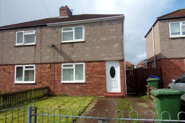 Thumbnail Semi-detached house to rent in Second Avenue, Blyth
