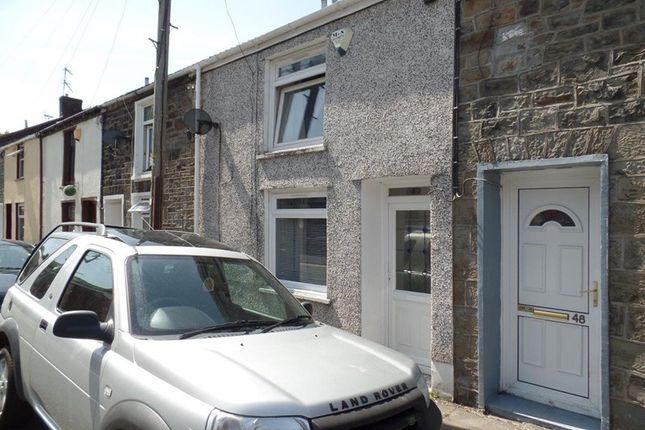 Thumbnail Terraced house for sale in Wyndham Street, Troedyrhiw, Merthyr Tydfil
