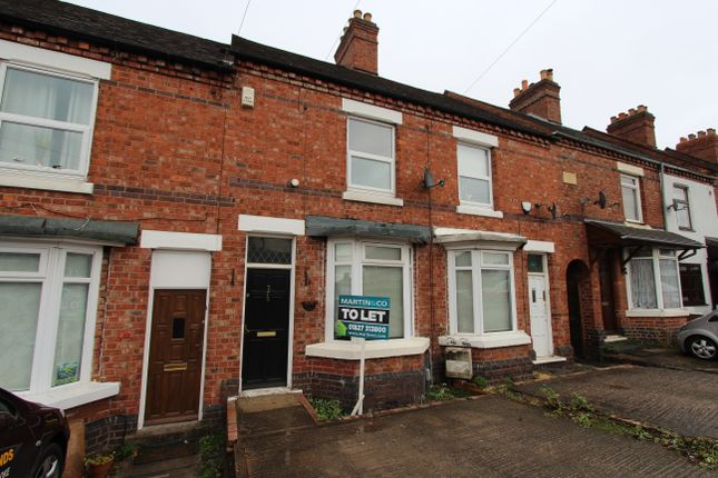 2 bed terraced house to rent in Glascote Road, Glascote, Tamworth B77