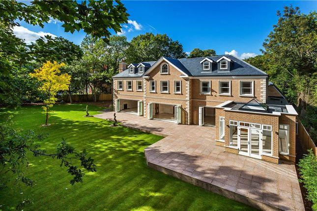 Thumbnail Detached house for sale in Burwood Park, Walton-On-Thames, Surrey