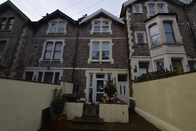 Thumbnail Terraced house for sale in Shrubbery Terrace, Weston-Super-Mare