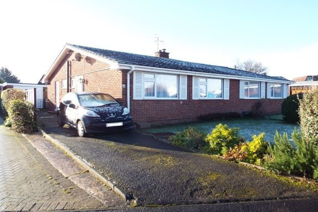 Thumbnail Bungalow to rent in Cherry Tree Crescent, Salford Priors, Evesham