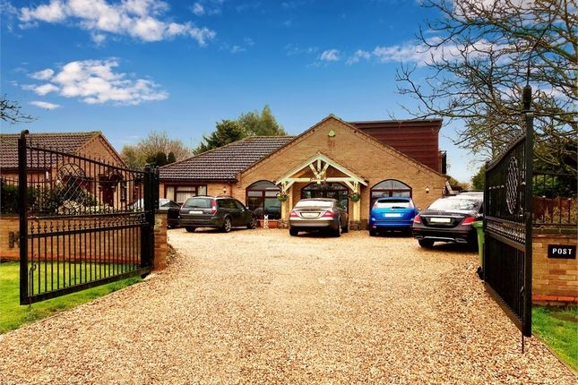 Thumbnail Detached bungalow for sale in Flaggrass Hill Road, March, Cambridgeshire