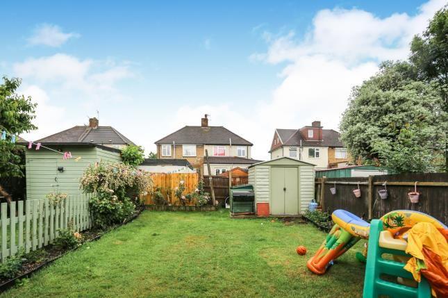 Rear Garden of Bracondale Road, Abbey, Wood, London SE2