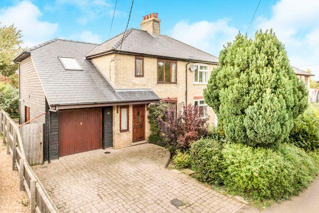 Thumbnail Semi-detached house for sale in Millfield, Cottenham, Cambridge