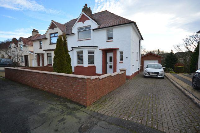 Thumbnail Semi-detached house for sale in Glen Crescent, Darvel