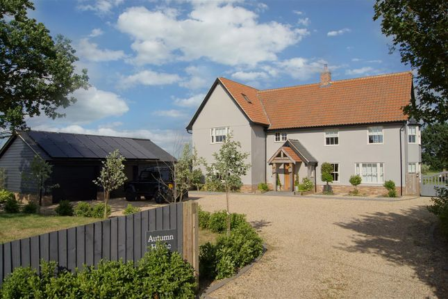 Thumbnail Detached house for sale in Walsham-Le-Willows, Bury St. Edmunds