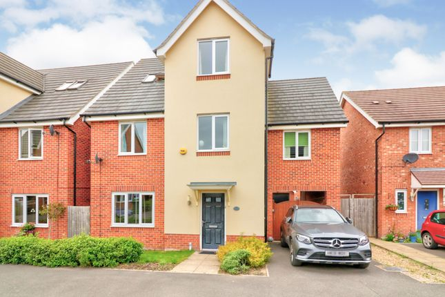 Thumbnail Detached house for sale in Aspen Close, Rugby