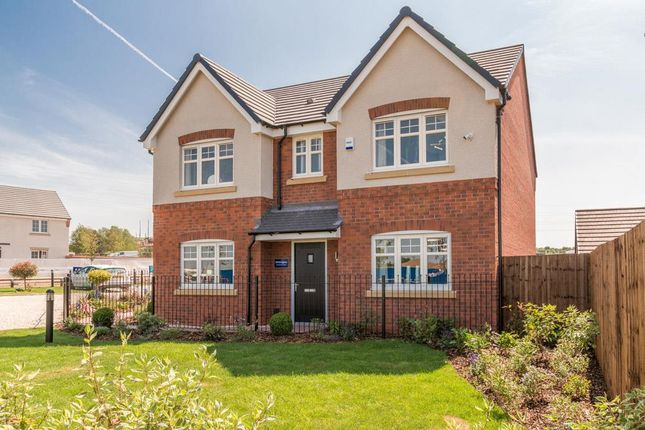 "Thumbnail Detached house for sale in ""Whittington"" at Europa Way, Warwick"