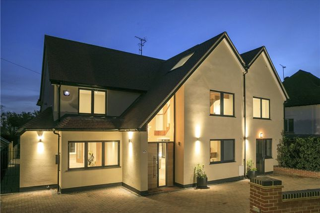 Thumbnail Detached house for sale in Burghley Avenue, New Malden