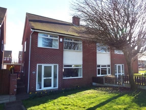 Thumbnail Semi-detached house for sale in Starling Drive, Farnworth, Bolton, Greater Manchester