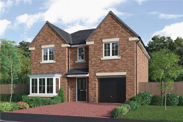 "Thumbnail Detached house for sale in ""The Sherwood"" at Choppington Road, Bedlington"