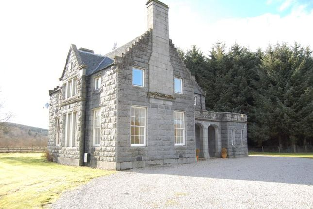 Thumbnail Detached house to rent in Clunydean, By Cluny Castle, Sauchen, Aberdeenshire
