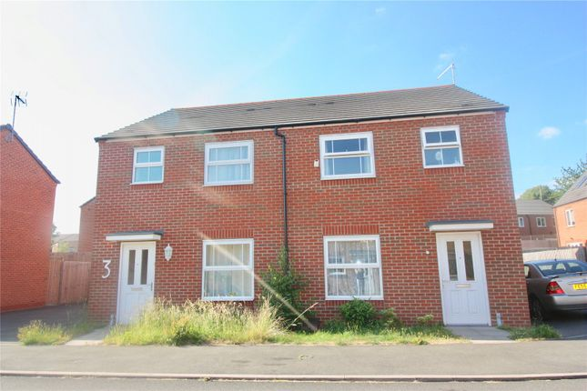 Thumbnail Semi-detached house for sale in Salix Close, Canley, Coventry