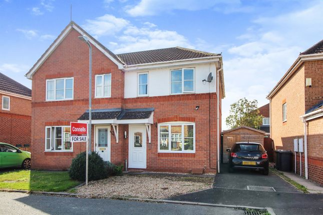 Thumbnail Semi-detached house for sale in Woodhampton Close, Stourport-On-Severn