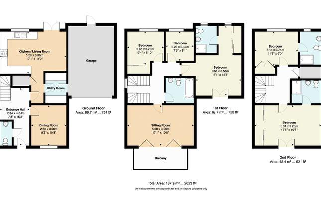 Floorplan of The Green, Tunbridge Wells, Kent TN2