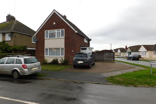 Detached house for sale in Highfield Road, Stowupland, Stowmarket
