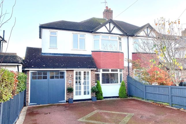 Thumbnail Semi-detached house for sale in Hurst Road, West Molesey