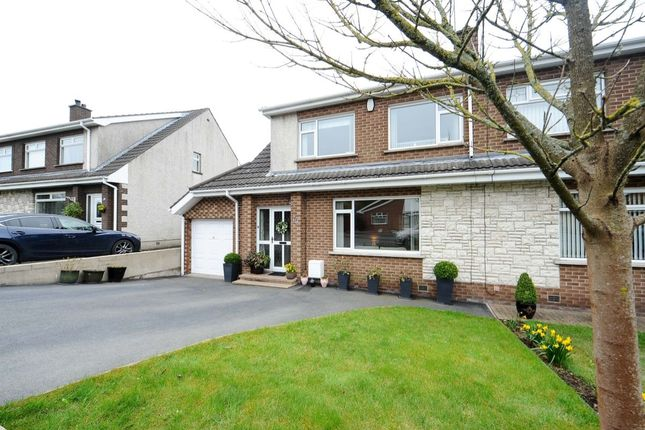 Thumbnail Semi-detached house for sale in Oakdale, Ballygowan, Newtownards