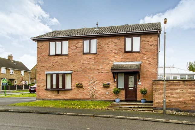 Thumbnail Detached house for sale in Crown Hill Way, Stanley Common, Ilkeston