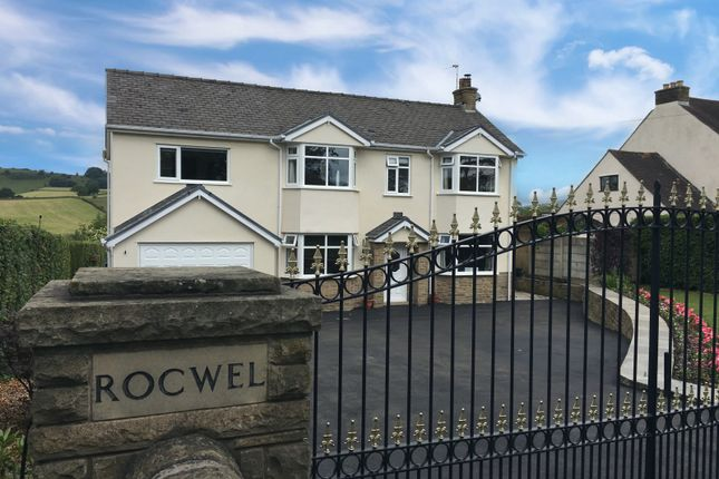 Thumbnail 4 bed detached house for sale in Manchester Road, Chapel-En-Le-Frith, High Peak