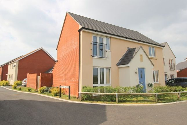 Thumbnail Detached house for sale in Oakbeer Orchard, Cranbrook, Exeter