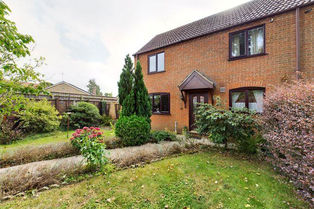 Thumbnail Semi-detached house for sale in Crown Gardens, Wereham, King's Lynn
