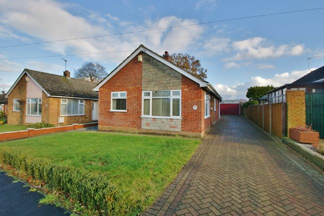 Thumbnail Detached bungalow for sale in Godfrey Road, Spixworth, Norwich
