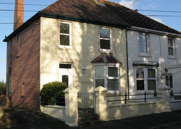 Thumbnail Semi-detached house to rent in Tenby Road, Carigan
