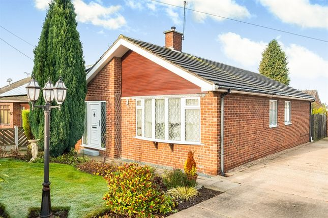 Thumbnail Detached bungalow for sale in Walnut Avenue, Shireoaks, Worksop