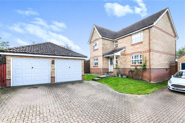 Thumbnail Detached house for sale in Highfields, Halstead, Essex