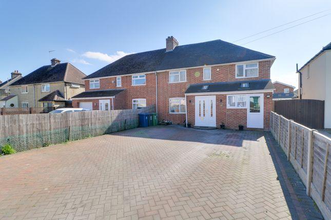 Thumbnail Semi-detached house for sale in Cambridge Road, Fulbourn, Cambridge