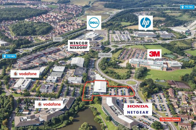 Thumbnail Industrial for sale in Brook House, Waterside Park, Cain Road, Bracknell