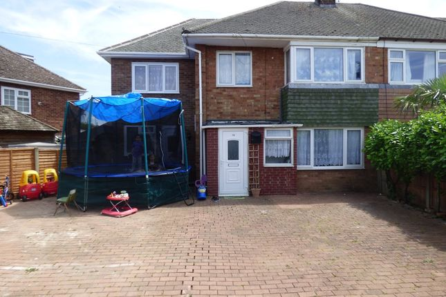 Thumbnail Semi-detached house to rent in Ashfields, Deeping St. James Road, Deeping Gate, Peterborough