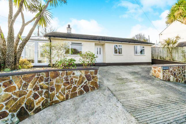 Thumbnail Detached bungalow for sale in Francara, Drakewalls, Gunnislake