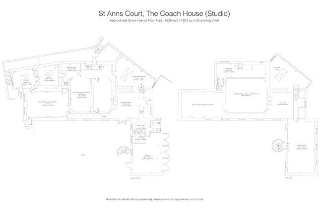 Floor Plans of St Ann's Court, St Ann's Hill, Surrey KT16